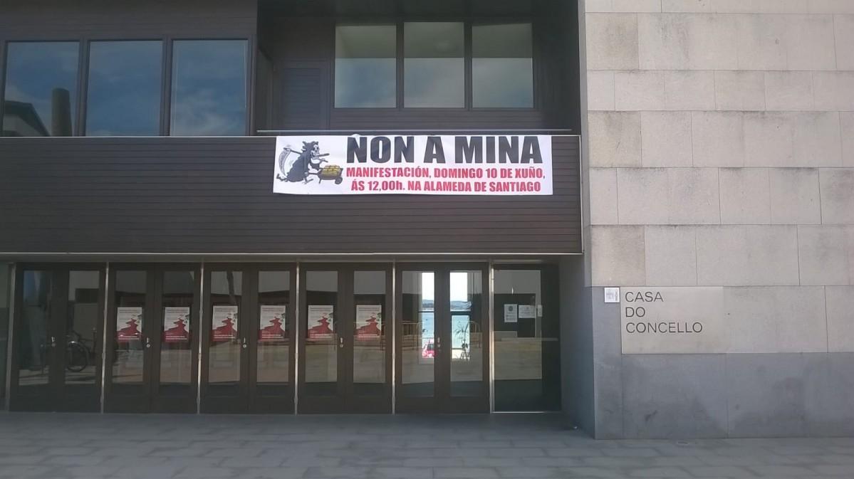 Pdra touro manifestacion pancarta