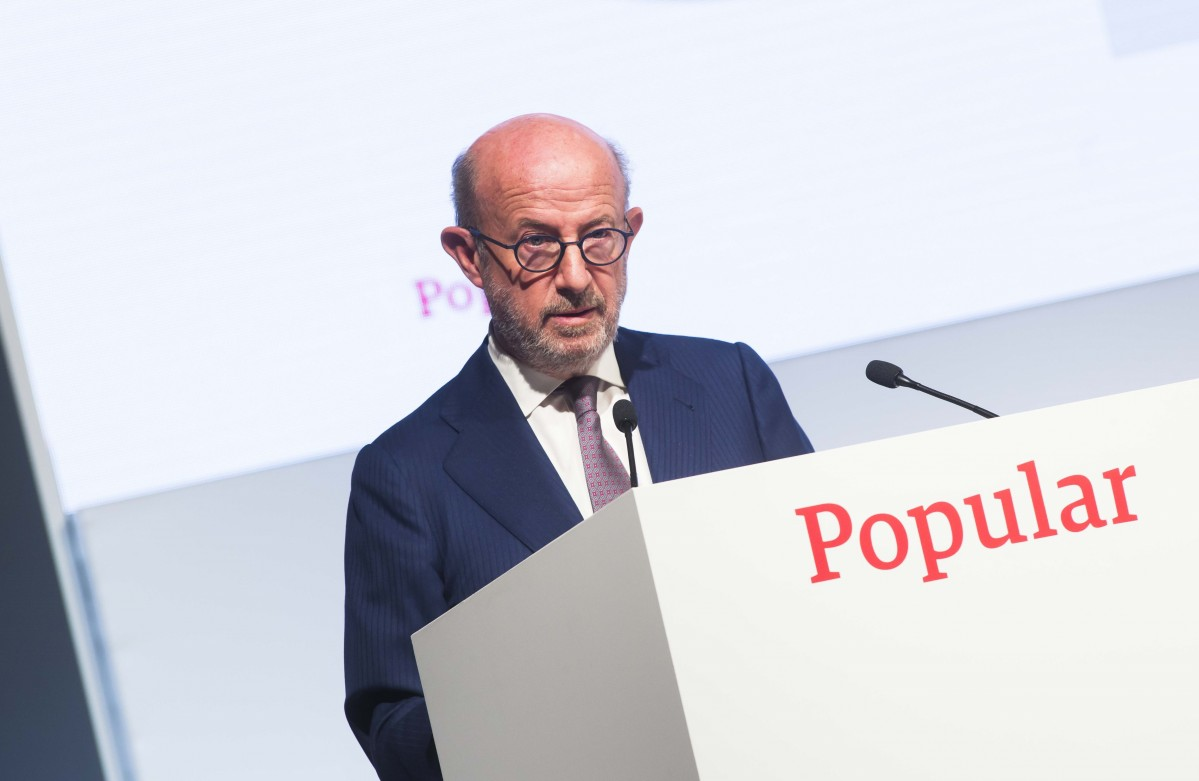 Emilio Saracho, expresidente do Banco Popular